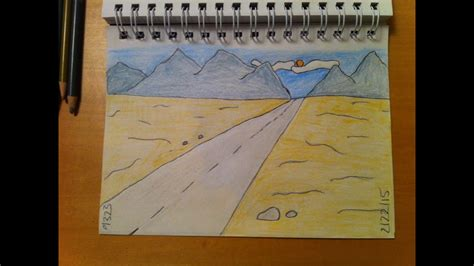 Easy Backgrounds To Draw 188 How To Draw Cool Easy Desert Background