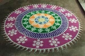 Sanskar Bharti Rangoli With Flowers | www.pixshark.com ...