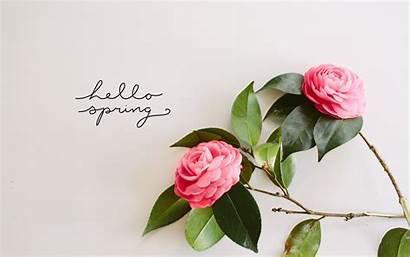 Hello Spring Wallpapers Desktop Laptop Wallpapersafari