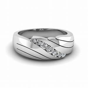 Buy affordable mens wedding rings online fascinating for Mens wedding rings with diamonds white gold