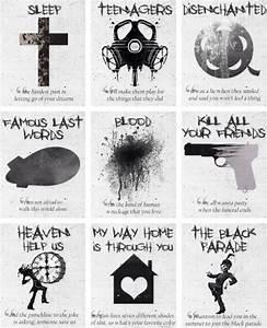 My Chemical Romance lyrics black parade | Killjoys Never ...