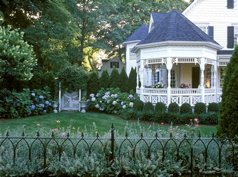 Victorian With Cottage Gardens, New Canaan