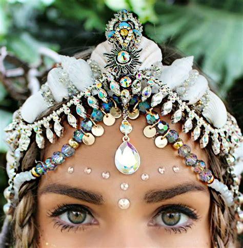 handmade seashell crowns    feel
