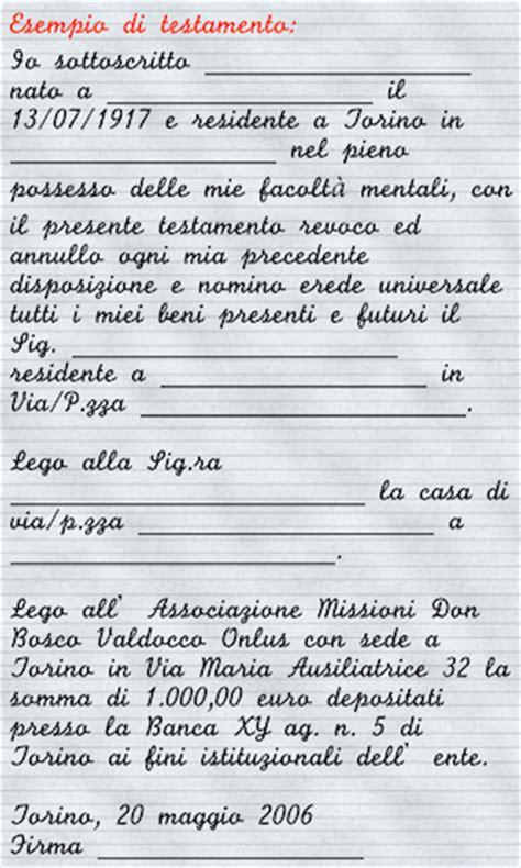 Testamento Olografo Legittima by Lasciti Testamentari