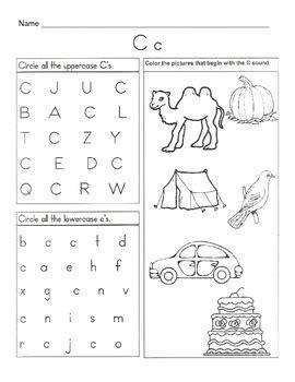 letter c worksheets 5 letter c worksheets alphabet amp phonics worksheets 22785 | original 290700 3