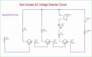 Non Contact Ac Voltage Detector Circuit