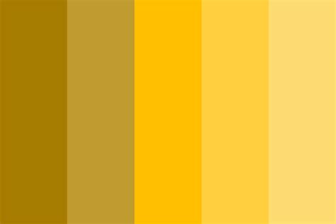 different colors of gold 24k gold color palette