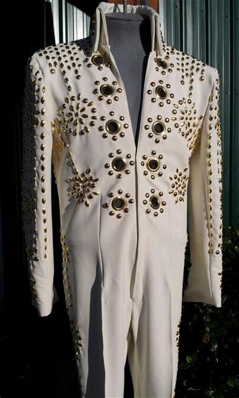 nailheadspectrum suit rw pro elvis jumpsuits custom fit stage costumes  professional