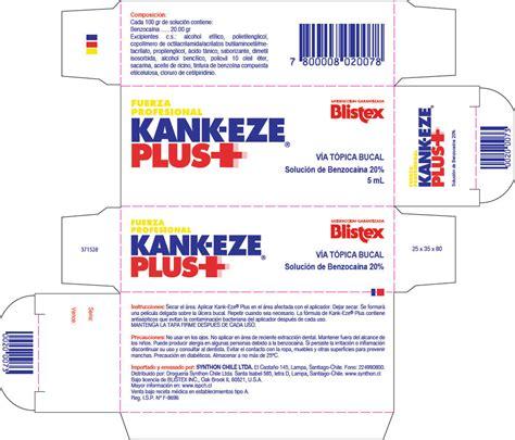 Blistex Kank-Eze (gel) Blistex Inc.