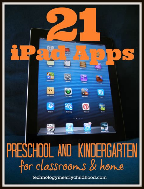 21 best apps for preschool and kindergarten ipads 914 | 21 apps for preschool and kindergarten technologyinearlychildhood.com