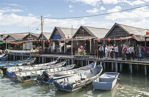 uniknya kampung nelayan  penang menembus dunia maya