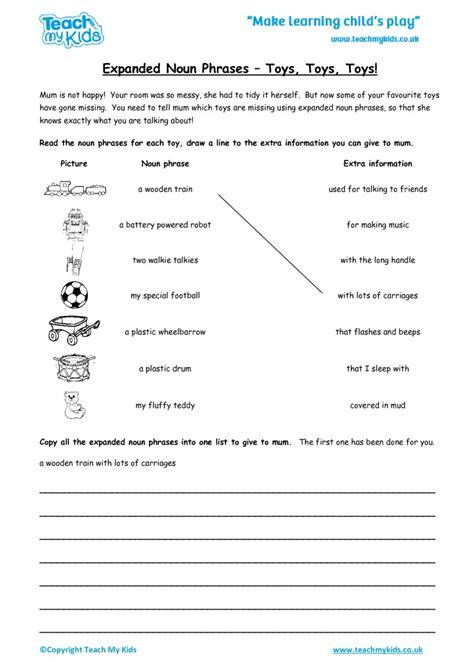 expanded noun phrases toys toys toys tmk education