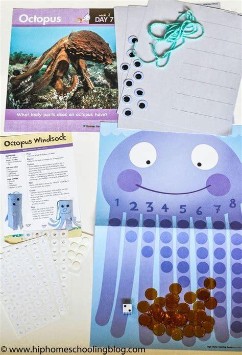 Preschool Homeschool Curriculum: Ocean Unit Study