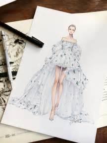 Fashion Design Sketches Dresses