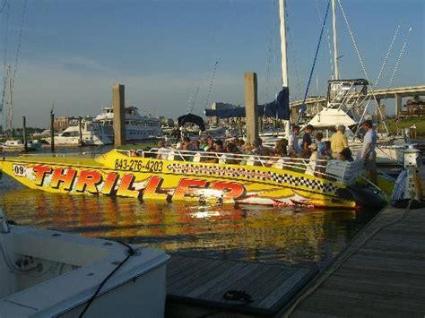 Boat Tours Charleston Sc by Thriller Charleston Boat Tours Of Thriller