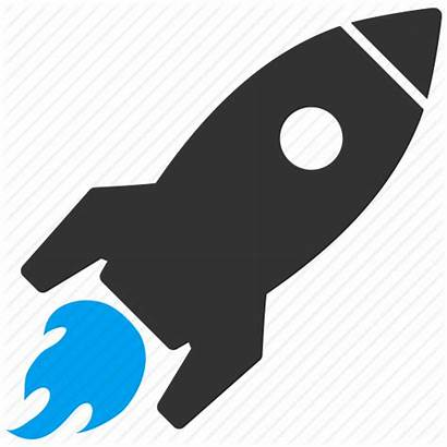 Icon Rocket Startup Icons Launch Start Project