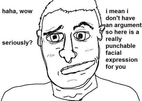 Counter Signal Memes - i don t have an argument so here is a really punchable facial expression counter signal memes