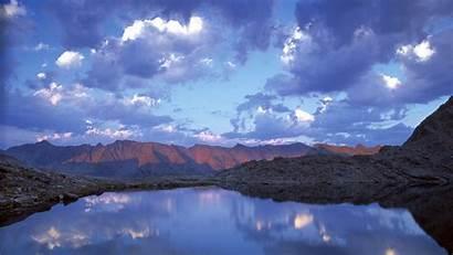 Widescreen Nature Wallpapers Desktop Pretty Mountain Sky