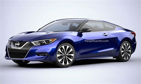 nissan maxima rendered  coupe  wagon