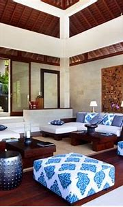 Living Room, Reception | Balinese interior, Balinese decor ...