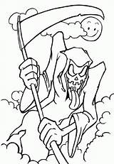 Coloring Pages Ghost Scary Very Popular sketch template