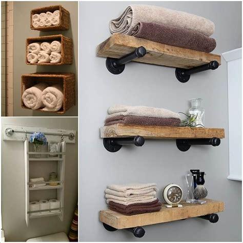 Extra Kitchen Storage Ideas - 15 diy bathroom shelving ideas that can boost storage