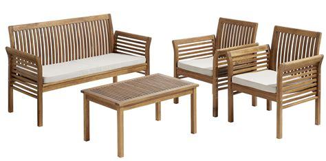 si鑒e de carrefour carrefour salon de jardin hanoï 1 table basse 1 sofa 2 fauteuils bois marron 4 places pas cher achat vente ensembles canapés et