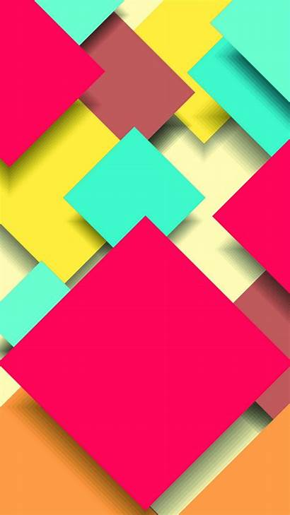 Iphone Wallpapers Abstract Square Plus Colorful Inch