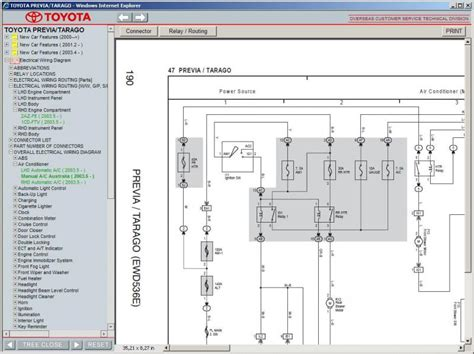 free car repair manuals 1992 buick coachbuilder electronic throttle control toyota previa tarago 2000