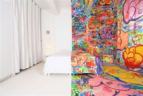 6 Unique Rooms In Hotel Au Vieux Panier by The Pink Chalkboard Graffiti Craze