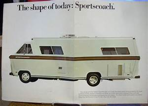 Purchase 1975 1976 Sportscoach Rv Motorhome Sales Brochure