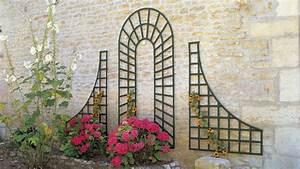 enrichir la decoration de son jardin avec du treillage With trompe l oeil exterieur jardin 7 habiller les murs de son jardin