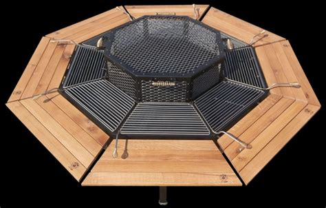 pit table grill pit and grill pit design ideas