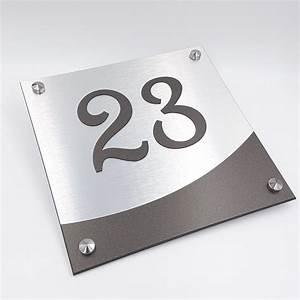 Plaque Numero Maison : num ro de maison numsign 20x20cm pose viss e ~ Teatrodelosmanantiales.com Idées de Décoration