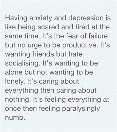 Anxiety, Depression, Quotes  Image #4018779 By Owlpurist
