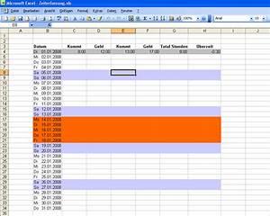 überstunden Berechnen Excel Vorlage : pctip 12 07 excel tabellen vorlage ~ Themetempest.com Abrechnung