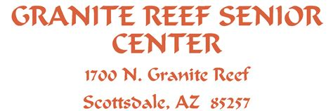 granite reef senior center