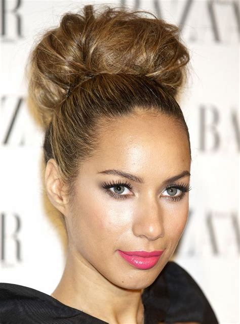 hair style for 17 best images about leona lewis on oval faces 6091