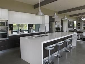 Breathtaking kitchen designs with island bench also