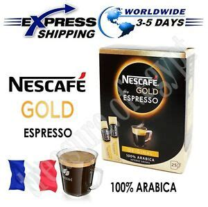 When drinking coffee, we rarely read the description and only grab a pack that we know will taste good based on the previous like many popular commercial instant coffee or even coffee grounds, this is a dark roast which supposed to give full body, stronger taste with less acidity. NESCAFE Gold Espresso 100% Arabica Ground Beans The Finest Instant Aroma Coffee | eBay