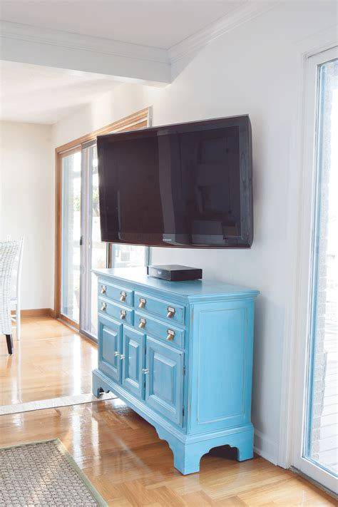 Installing a Swivel TV Mount and Hiding TV Cords + Cable