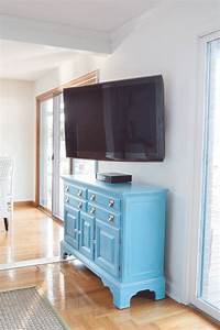 Installing a Swivel TV Mount and Hiding TV Cords + Cable ...