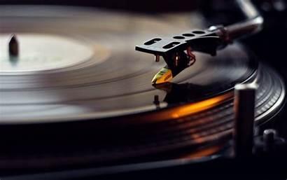 Vinyl Disk Gramophone Macro Desktop Wallpapers Backgrounds