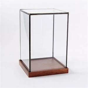 Wood + Glass Display Cases west elm