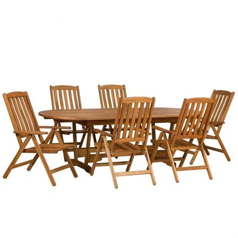 royalcraft edinburgh extending  seater dining set