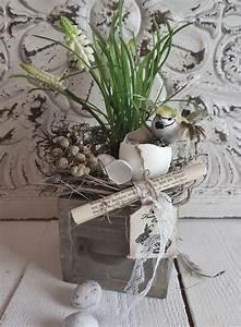 Deko Frühling 2018 : holzkistchen fr hling kleines schwedenhaus osterdeko wei shabby chic ostern ostern easter ~ Eleganceandgraceweddings.com Haus und Dekorationen