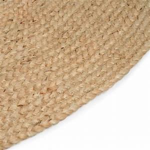 Teppich Rund 2m : jute teppich rund d 1 2m natur depot de ~ Whattoseeinmadrid.com Haus und Dekorationen