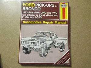 Purchase Haynes Ford F100 F150 F250 F350 Pickup Truck