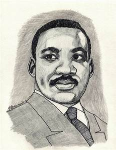 Portrait Of Martin Luther King By Aaronmark On Stars Portraits