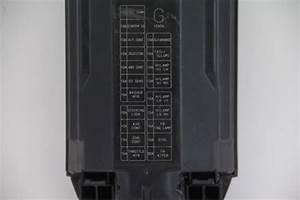 Infiniti Fx35 Engine Hood Fuse Box Exterior Black Oem 09
